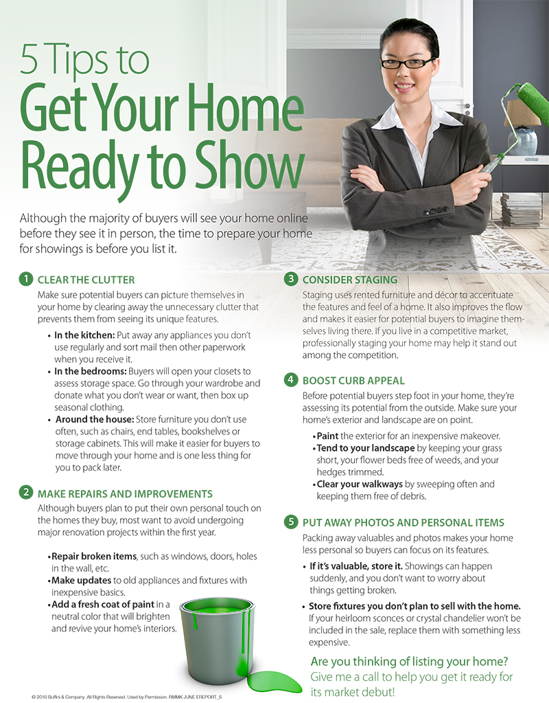 Get Your Home Ready to Show
